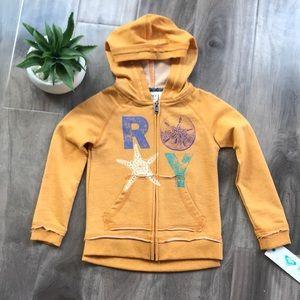 ROXY GIRL Coastal hoodie - size 4